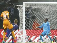 世界杯C组小组赛 科特迪瓦vs日本