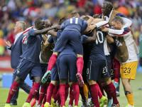 世界杯E组小组赛 法国v洪都拉斯上半场