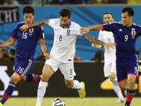 世界杯C组次轮 日本VS希腊上半场
