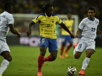 世界杯E组次轮 洪都拉斯VS厄瓜多尔上半场