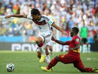 世界杯G组次轮 德国VS加纳上半场