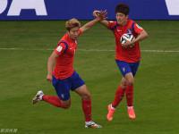 世界杯H组次轮韩国V阿尔及利亚 下半场