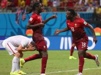 世界杯G组次轮 美国VS葡萄牙下半场