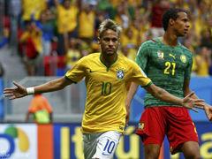 喀麦隆VS巴西上半场
