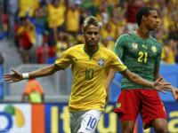 世界杯A小组末轮 喀麦隆VS巴西上半场