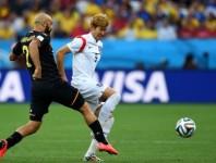 世界杯H组末轮 韩国VS比利时下半场
