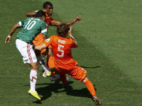 世界杯1/8决赛 荷兰VS墨西哥上半场
