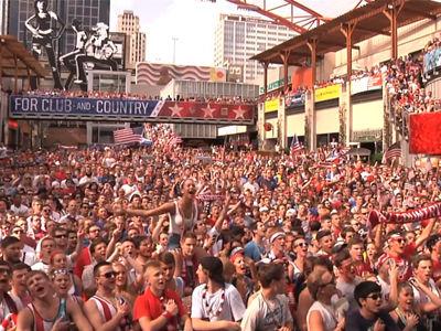 视频-赛前美国千人齐唱国歌 助力国家队战平葡萄牙
