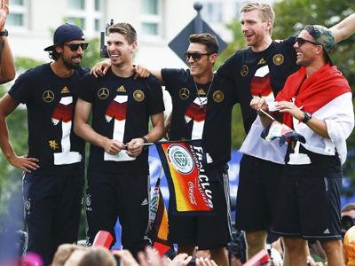 德国夺冠庆典完整版