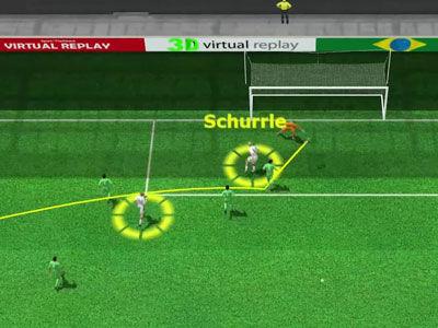 3D进球穆勒左侧传中 许尔勒脚后跟磕入远角头像