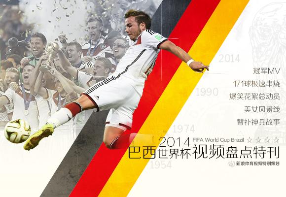 2014巴西世界杯视频盘点特刊
