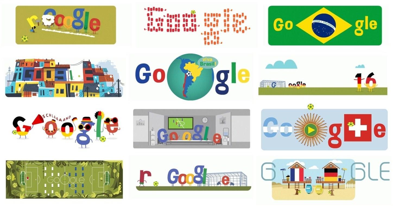 创意无限! 谷歌世界杯涂鸦汇总