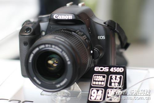 佳能450D数码单反相机