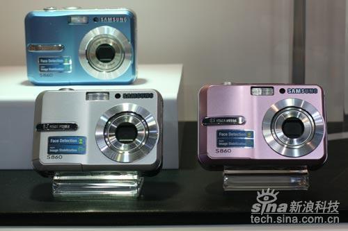 三星S860数码相机