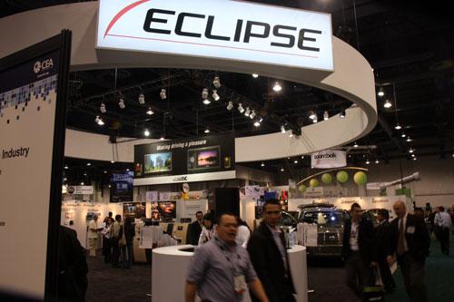 图为:Eclipse展台