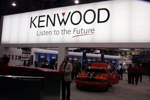 图为:Kenwood展台