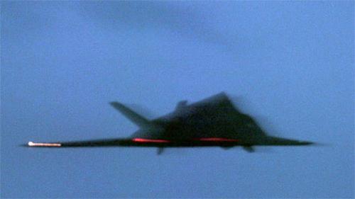 """f-117a""""夜鹰""""隐形飞机"""