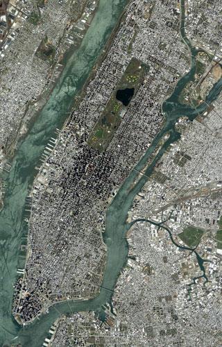 地球卫星照片展现蓝色星球各个角落(图)(2)