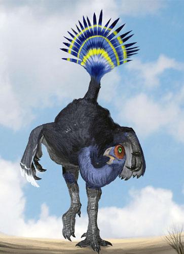 中美学者首次发现3只带毛恐龙足迹(组图) - gunwww - gunwww的博客