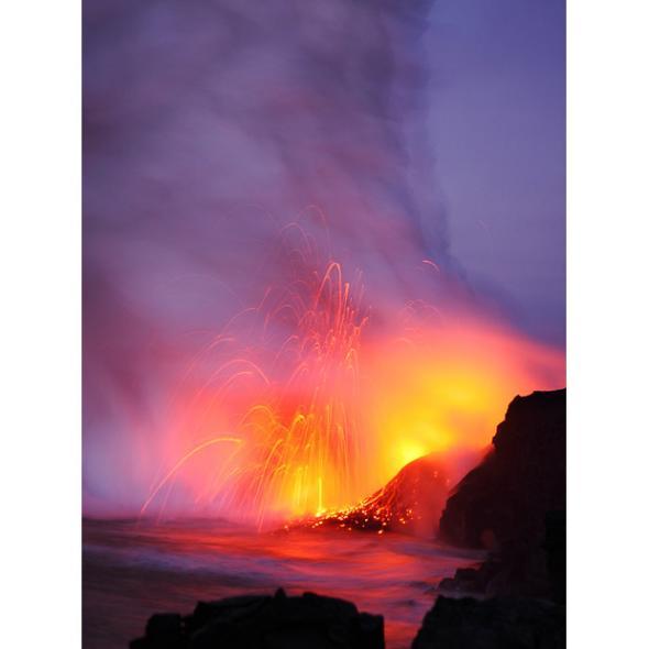 在火山旁求婚