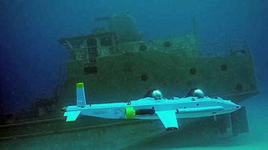 美推出水下飞行器:形似飞机可下潜300米