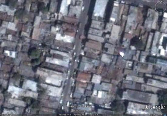 震前的街区