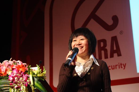 中国互联网协会国际合作与宣传部部长李红女士致辞