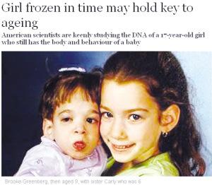 9岁的布鲁克(左)和6岁的卡莉