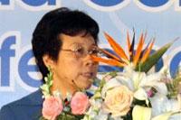 十一届全国人大常委会副委员长严隽琪