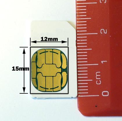 联通内测迷你SIM卡 将引入iPad和iPhone 4