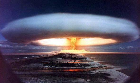 核武器爆炸场景
