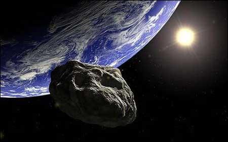 威胁地球的小行星(新浪科技配图)