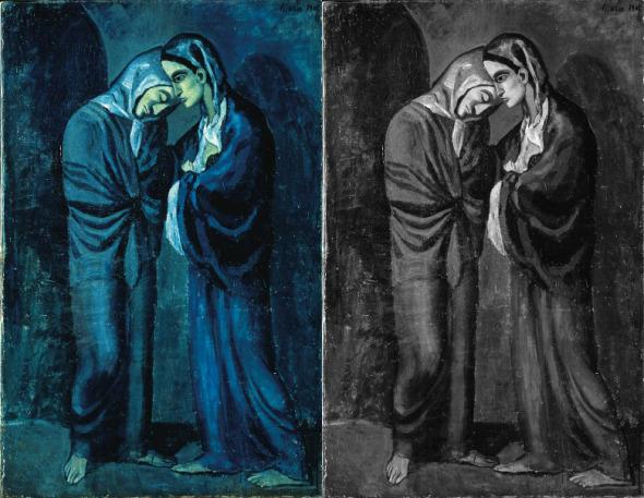畢加索的藍色時代