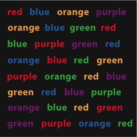 混亂的色彩