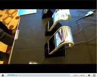 三星4.5英寸柔性AMOLED屏幕