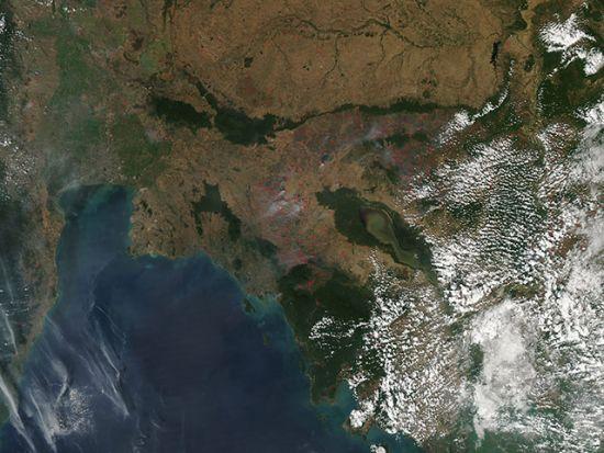中南半岛大火
