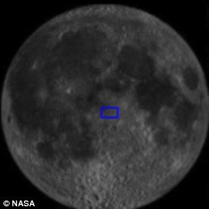 用来查找准确位置的图片出现在屏幕左上角。