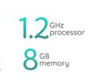 1.2GHz 8GB闪存