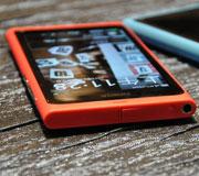 诺基亚N9粉色机身