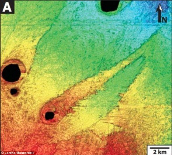 研究人员发现火星地形和特立尼达岛近海的条纹状海底土墩存在相似之处,这表明火星上曾存在水