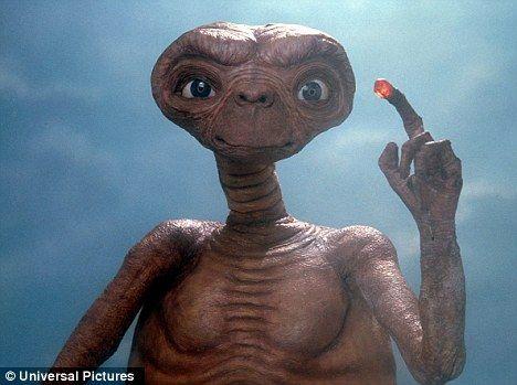 近日一位俄罗斯科学家预言人类将在20年内发现外星人,并且认为它们的样子将和人类非常相似――拥有两只手两条腿和一个脑袋――大概就像是E.T中的外星人形象