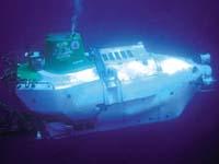 美国阿尔文号深潜器