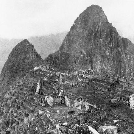 1911年的马丘比丘:印第安人家庭