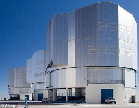 位于南美洲智利欧洲南方天文台的拉息拉望远镜