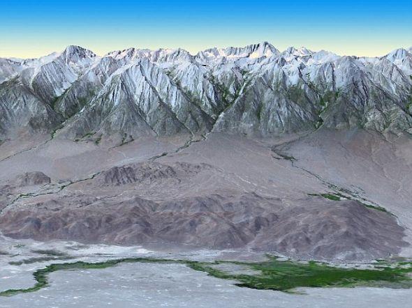美卫星拍最详细3D地图 覆盖地球99%大陆(图)