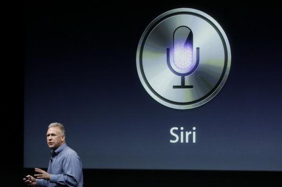 """iPhone4S内置""""Siri""""系统"""
