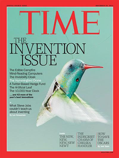 2011时代周刊年度50大最佳发明揭晓