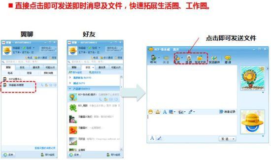 中国电信推出翼聊PC版