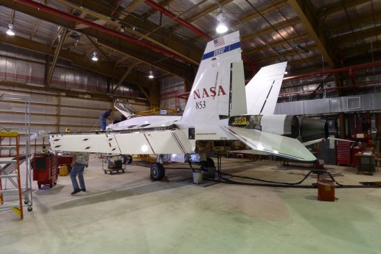 最老飞行实验机