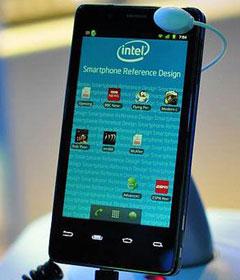 英特尔Atom处理器Android智能机